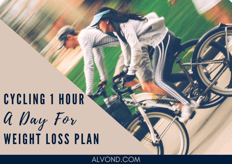Bike Riding Plan For Weight Loss – 1 Hr A Day