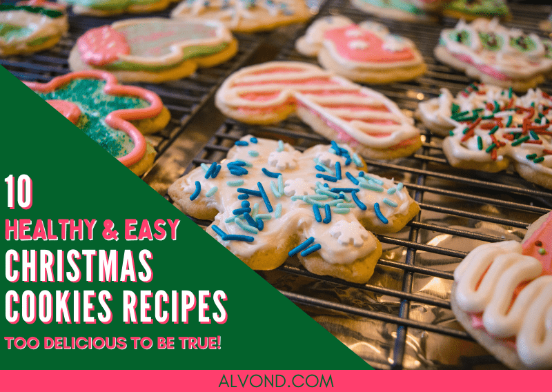 10 Healthy Christmas Cookies Recipes